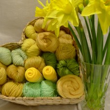 In love with yellows and greens of spring!