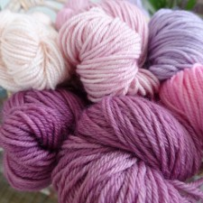 Mixing colours across the Gorgeous Yarns collection.