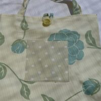 Laura Ashley fabric in flowers and spots