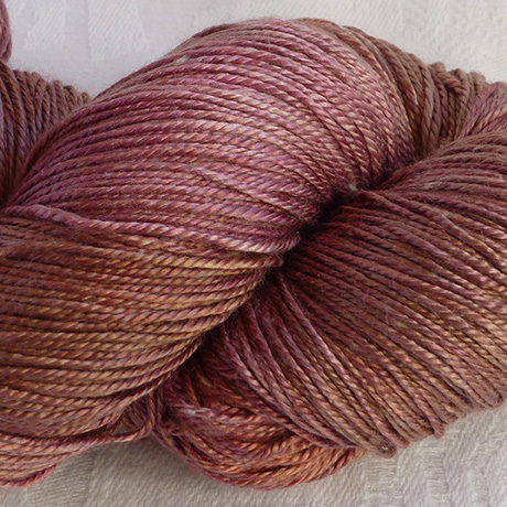 Perran Yarns 70% Silk, 30% Sea cell, fine 4 ply