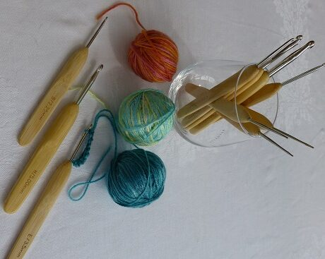 ChiaoGoo Bamboo Metal Crochet Hook