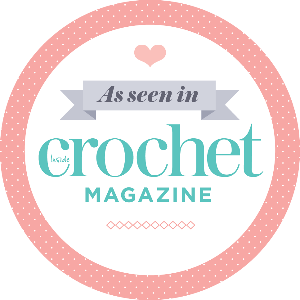 As seen in inside crochet magazine