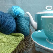 Time For Teal, yarn kits and patterns