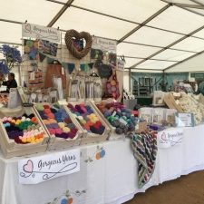 Toby's Gardenfest at Powderham, Gorgeous Yarns