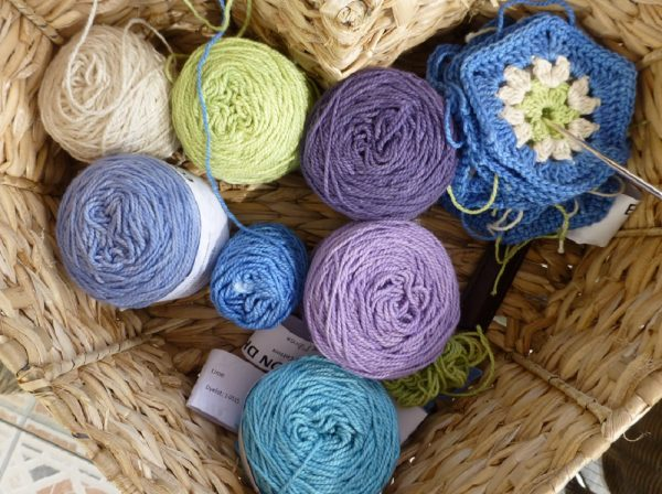Nurturing Fibres cotton Hexagons