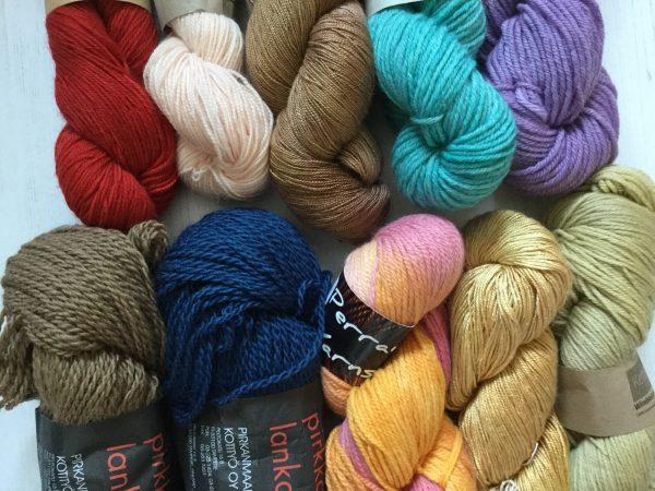 Gorgeous Yarns Autumn Colours