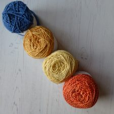 Bright colours from Nurturing Fibres