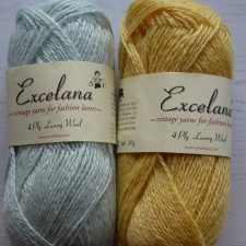Gentle yellow and blue from Excelana