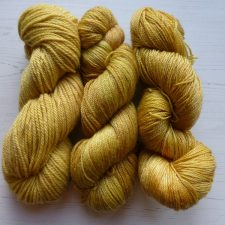 Golden yellows from Perran Yarns