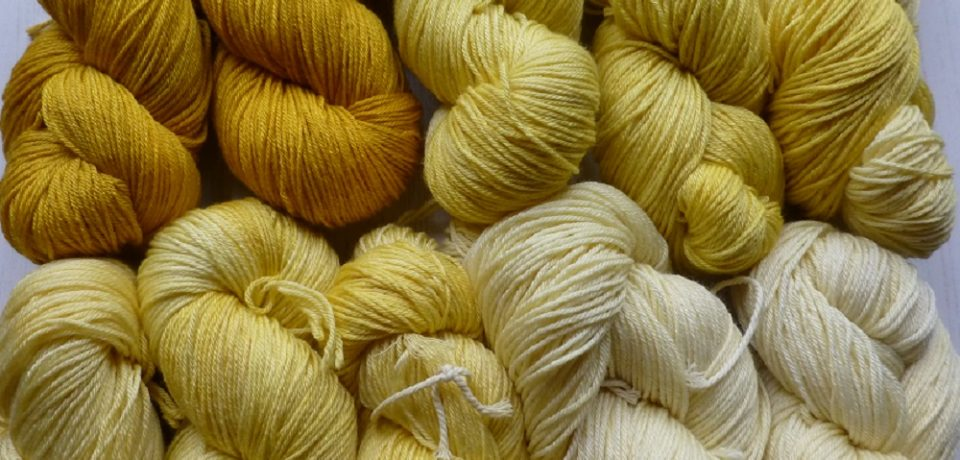Naturally Gorgeous Hand dyed yarn