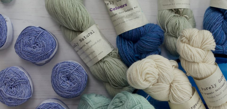 Gorgeous Yarns in April