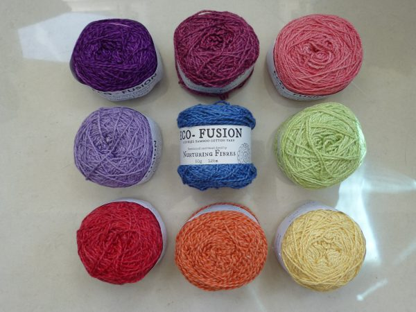 Nurturing Fibres colours