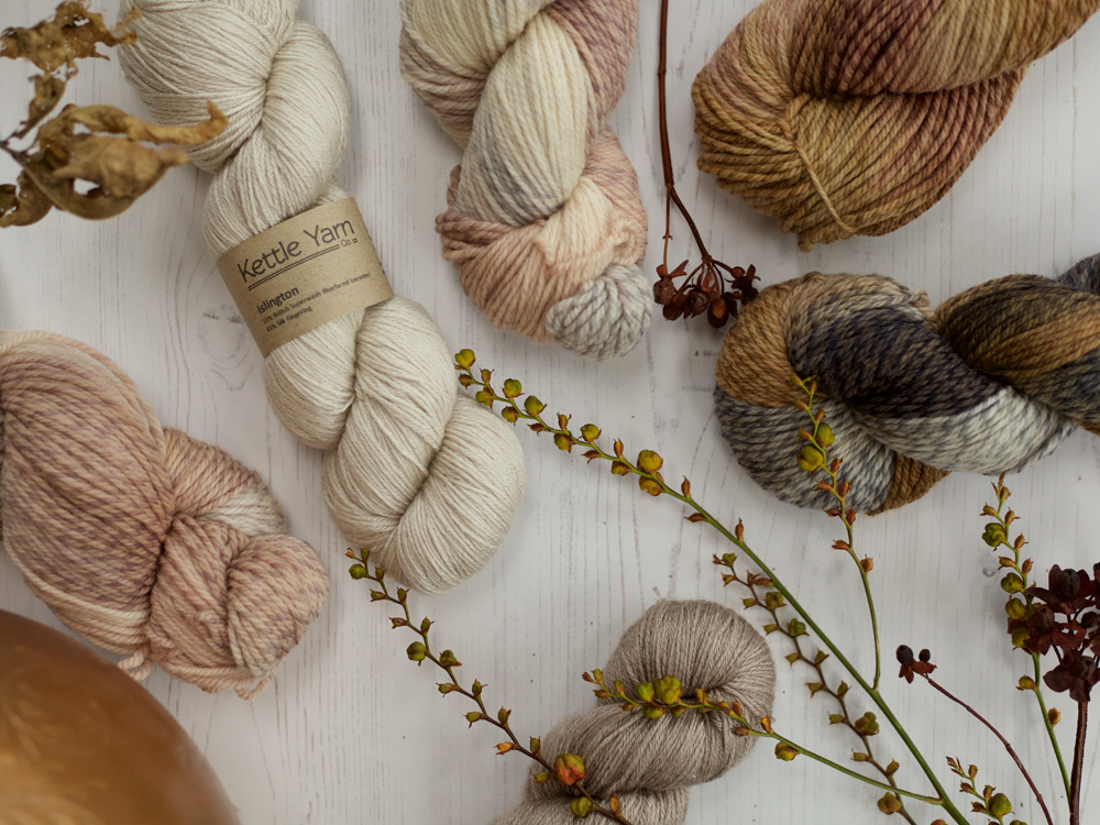 Natural Yarns at Gorgeous Yarns