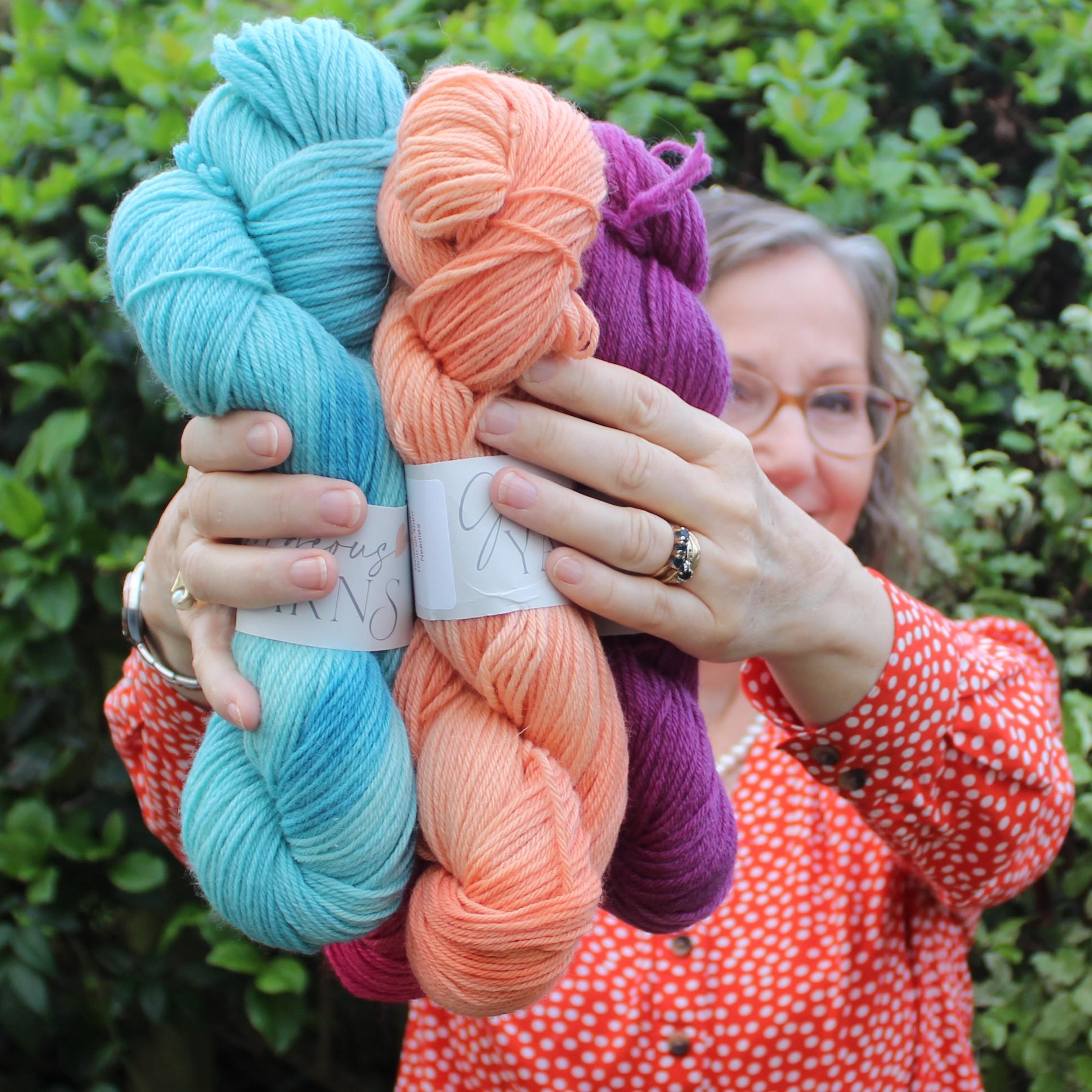Beautiful natural yarns