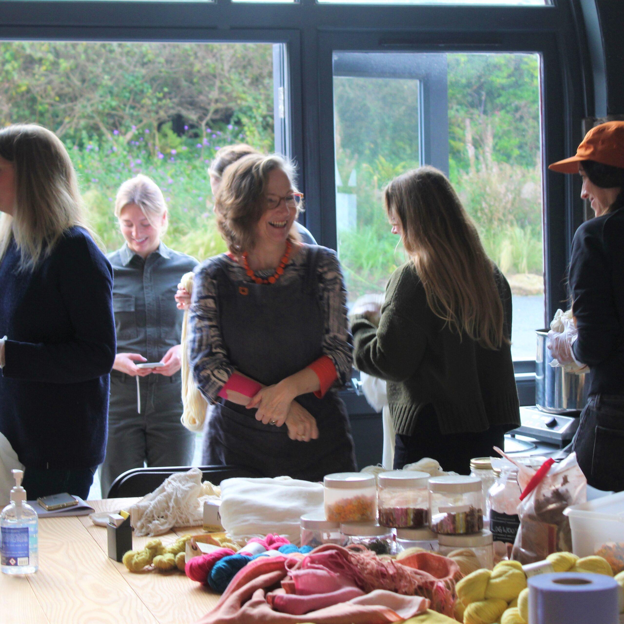 Dye workshops in person