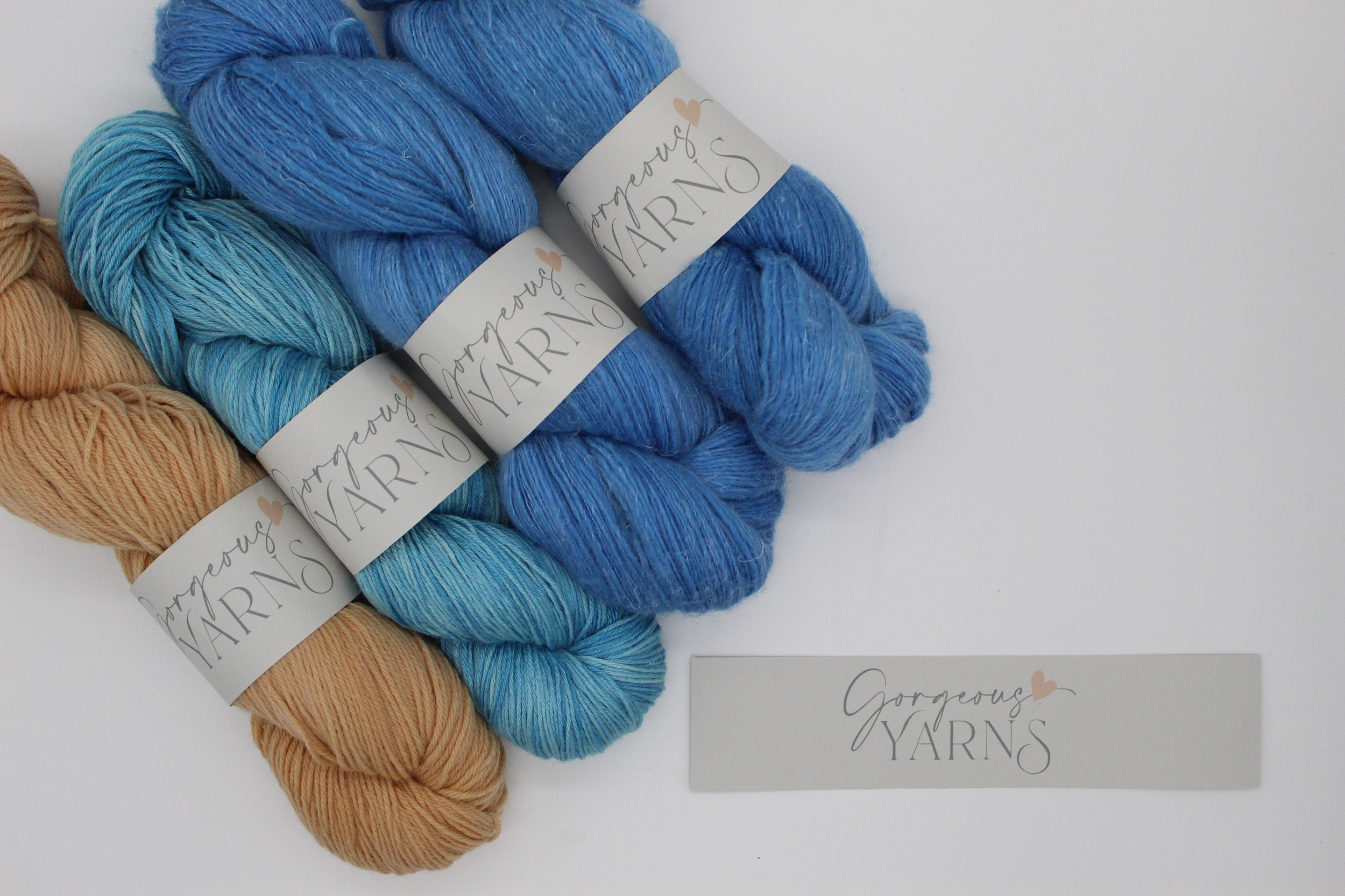 Sustianably dyed yarn