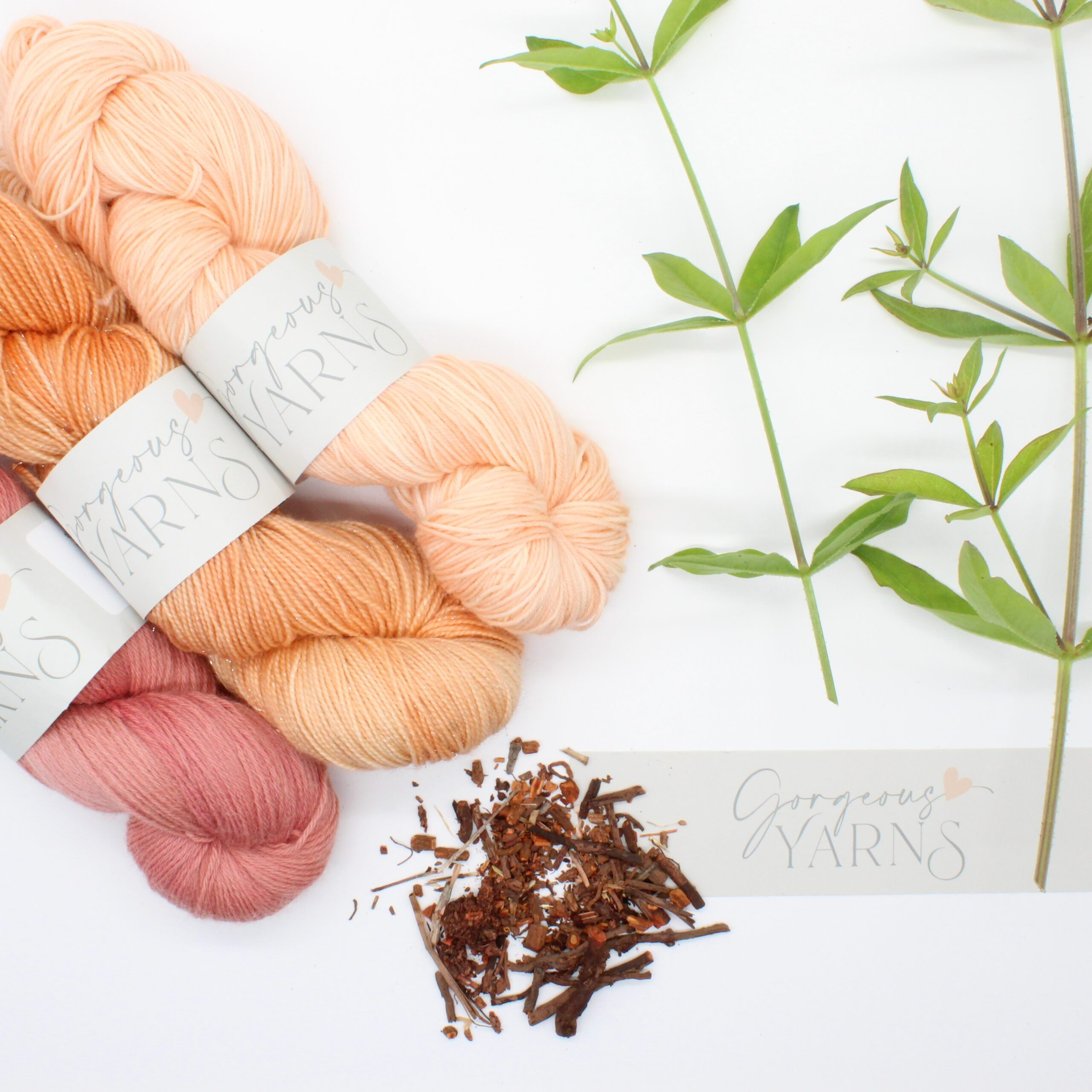 Natural Dyes give beautiful colours