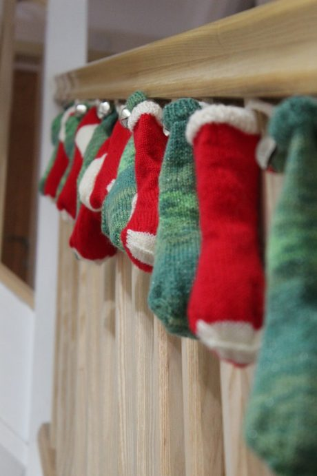 Christmas Stocking Bunting