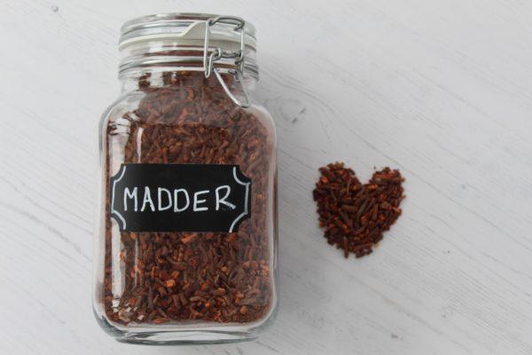 Madder dyestuff