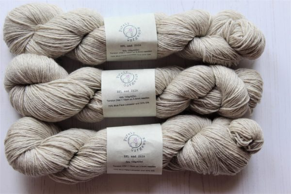 Purely Gorgeous BFL-silk-4ply-