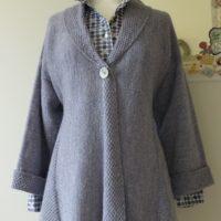 Frangipani 5ply Cardi-coat