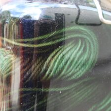 Close up September DIY Daylight dye kit